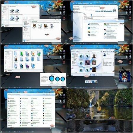 Aero 3D Exclusive - Тема для Windows 7