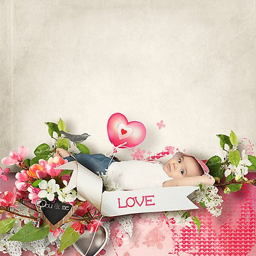 Скрап-набор и AddOn - Spring Love Is All You Need