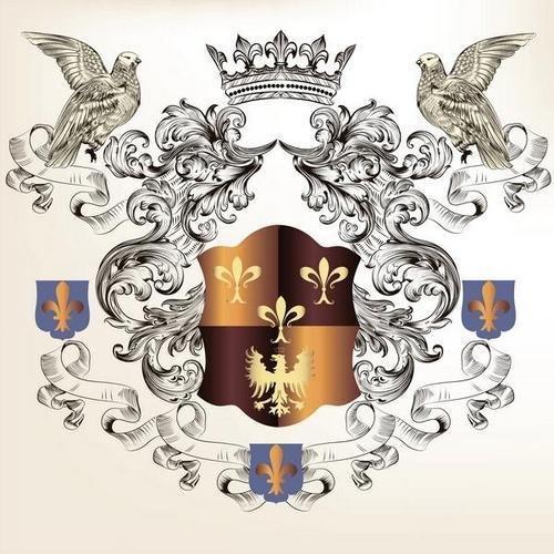 Геральдические элементы / Heraldic Elements 3