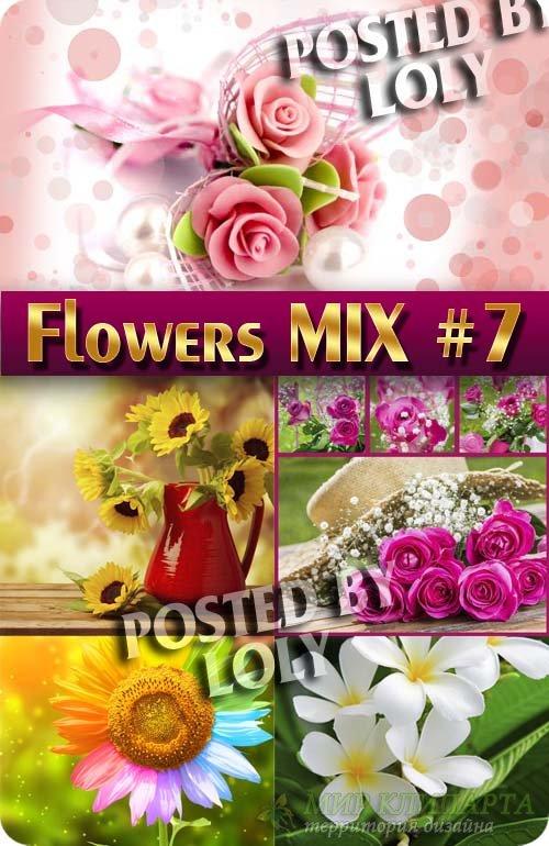 Цветочный Микс #7 - Растровый клипарт