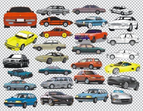 Автомобили на прозрачном фоне 89 png