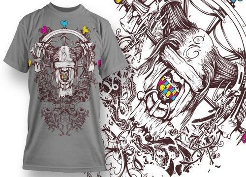 Дизайн футболок / T-Shirt Design 19