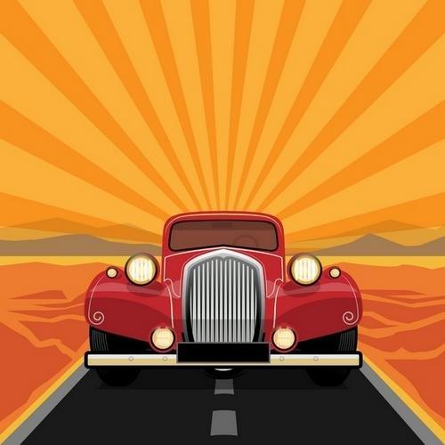 Ретро автомобили / Retro Cars