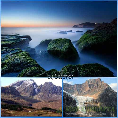 Горы разнообразные и безгранично шикарные