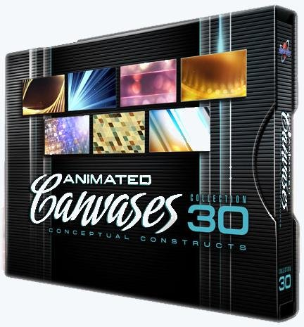 Digital Juce - Animated Canvases Collection 30: Conceptual Constructs
