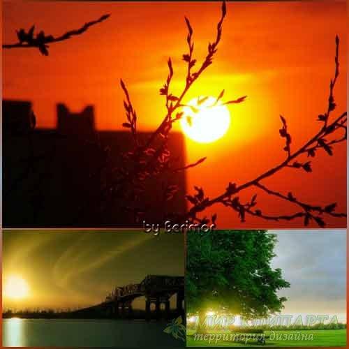 Чудесные рассветы и непостижимые закаты