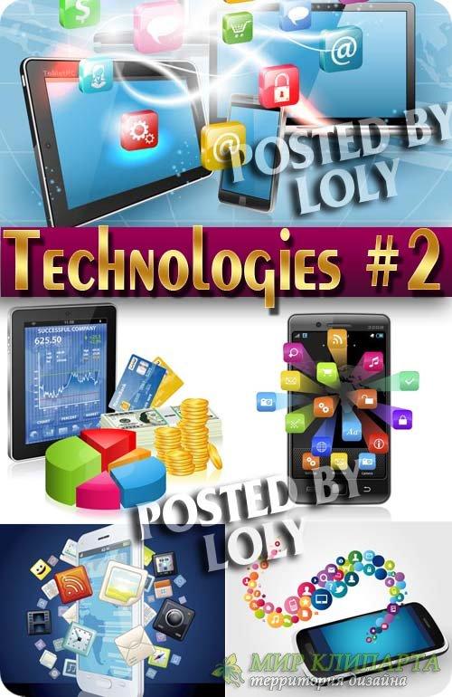 Современные технологии #2 - Векторный клипарт