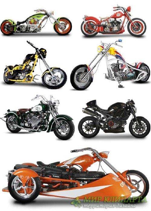 Мотоциклы и трициклы (подборка изображений)