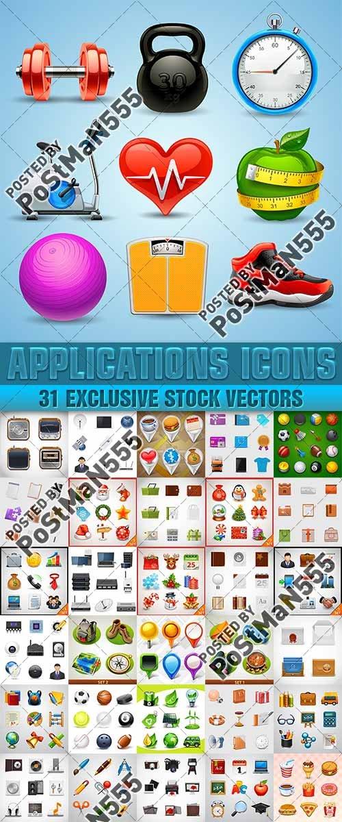 Универсальные иконки | Universal icon set, вектор