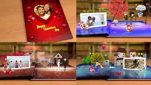 Happy Valentine's Day - Project for After Effects (Videohive)