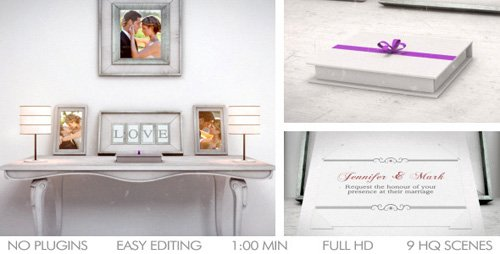 Wedding Invitation (Announcement)- Project for After Effects (Videohive)