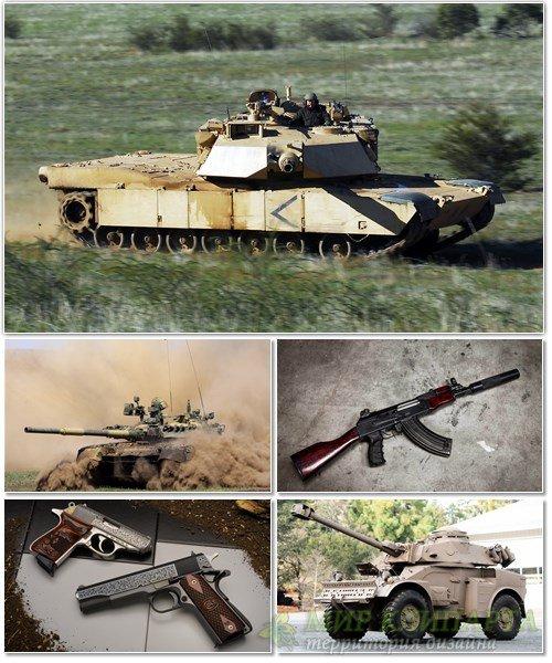 Обои с различными видами оружия на рабочий стол 13