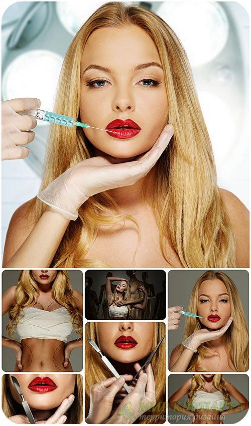Пластические операции, женская красота / Plastic operations, female beauty  ...