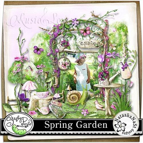 Скрап-набор - Spring Garden