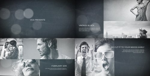 Vintage Black - A Photo Slideshow - Project for After Effects (Videohive)