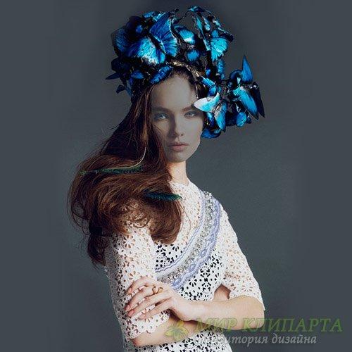 Шаблон женский - Мисс весна
