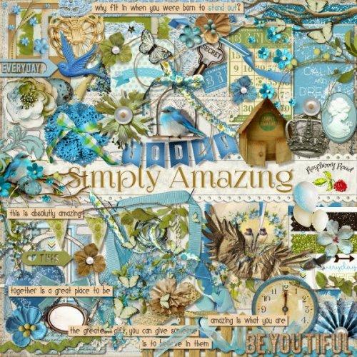 Скрап-набор Simply Amazing