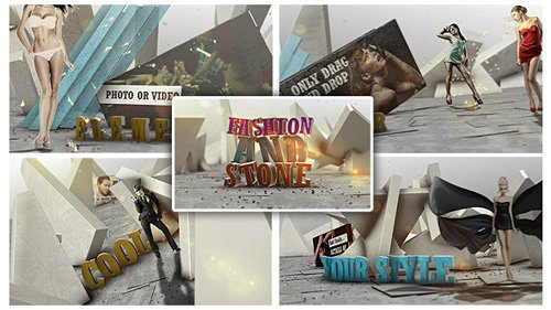 Fashion And Stone - Project for After Effects (Videohive)