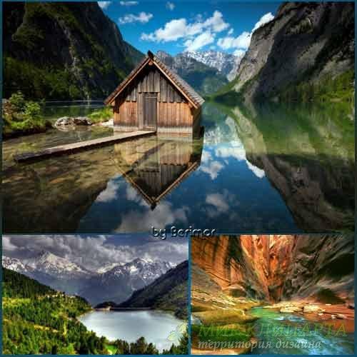 Фото всевозможных озер прекрасных рек и непостижимых болот