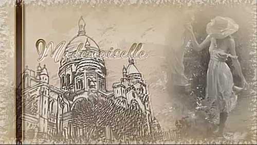 Романтический проект для ProShow Producer - Мадемуазель