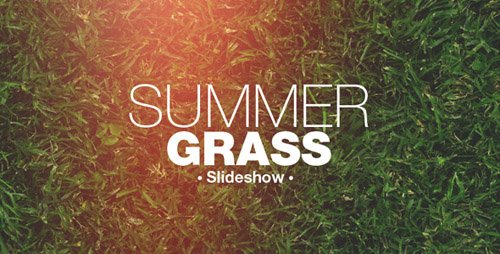 Grass Slideshow - Project for After Effects (Videohive)