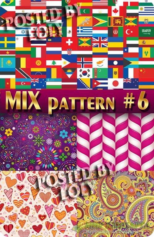 MIX паттерны #6 - Векторный клипарт