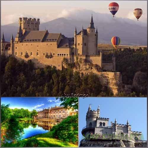 Фото непостижимых и изящные замков