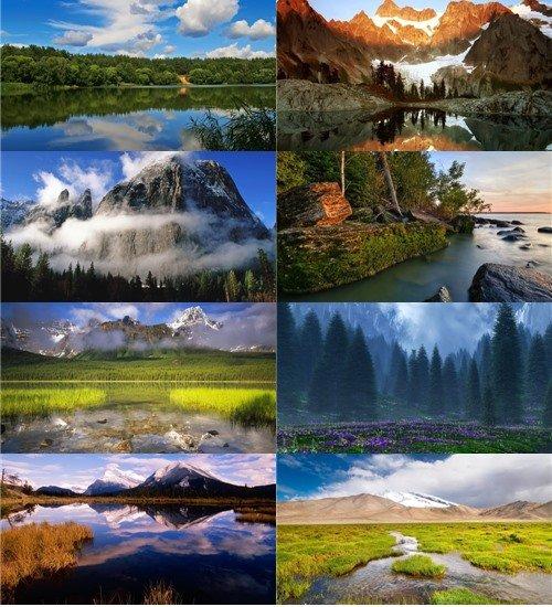 Сказочно-прекрасная природа хорошего качества в фото