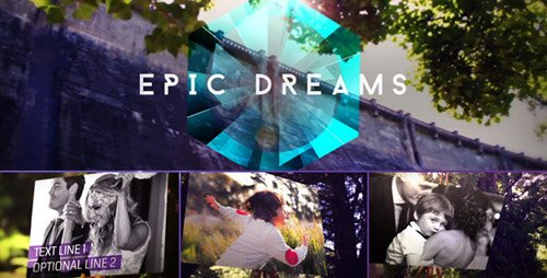 Epic Dreams Gallery - Project for After Effects (Videohive)