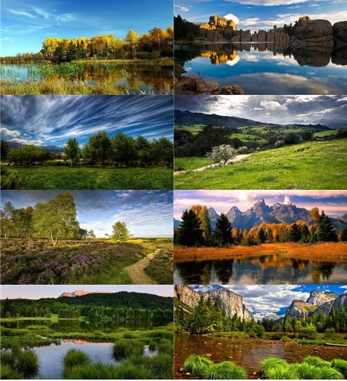 Чудесная природа в фотографиях нашей планеты отличного качества