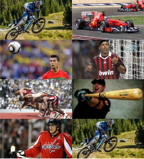 Сборник обоев на спортивную тему в фото