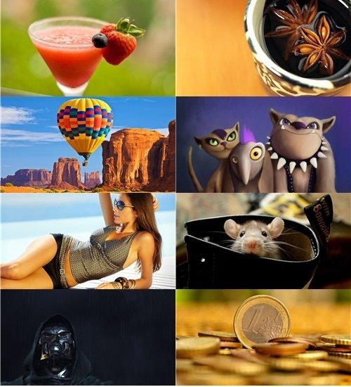 Сборник на разные темы обои для рабочего стола в фото и картинках