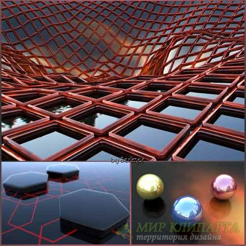 Всевозможные и удивительные 3D обои