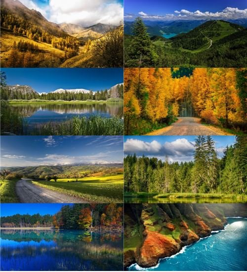 Прекрасная природа в фотографиях отличного качества