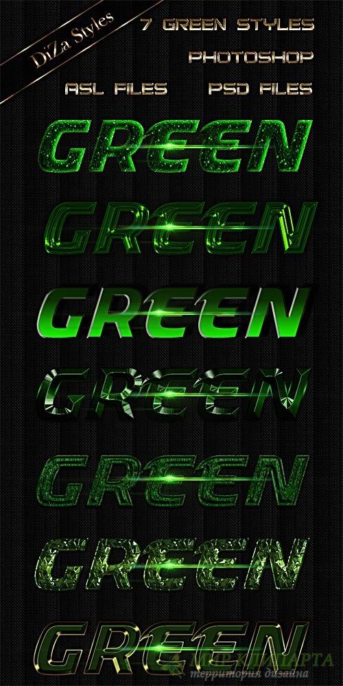 Green Styles -  Зеленые стили