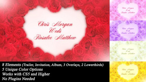Wedding Roses - Project for After Effects (Videohive)
