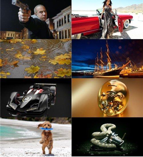 Сборник разных обоев для рабочего стола в картинках и фото
