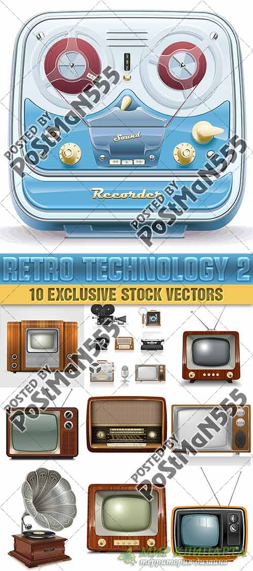 Старая технология, телевидение и радио оборудование | Old technology, TV an ...
