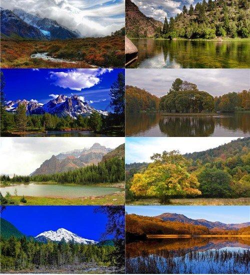 Удивительной красоты природа в фотографиях отличного качества