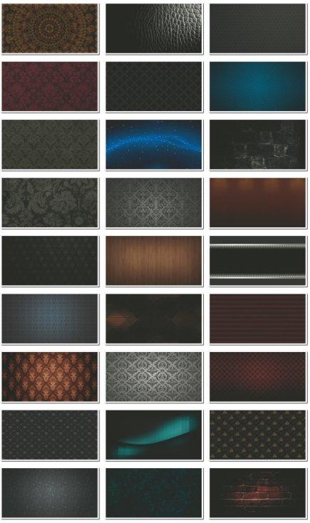 Фоны для визиток и дизайна темные. 29 JPEG