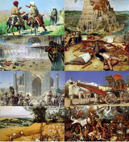Подборка картинок живописи разных художников
