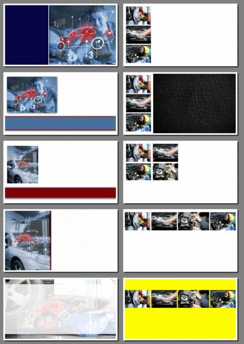 Фоны для визиток: ремонт автомобилей, автосервис. 11 png