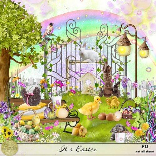 Скрап-набор It's Easter