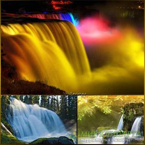 Изящные и многообразные водопады фото