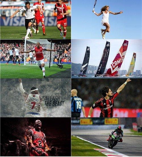 Подборка обоев спортивная тема в фото