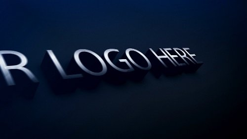 3d Elegant Logo - After Effects Project