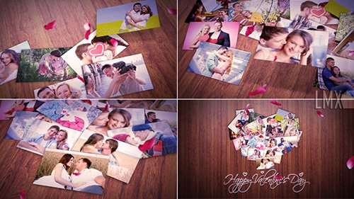 Heart Of The Photos - Project for After Effects (Videohive)
