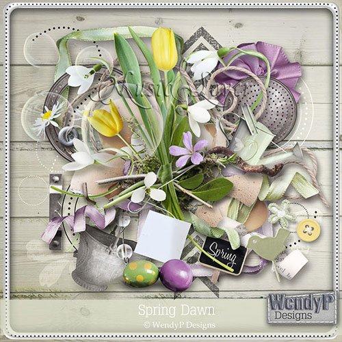 Скрап-набор - Spring Dawn