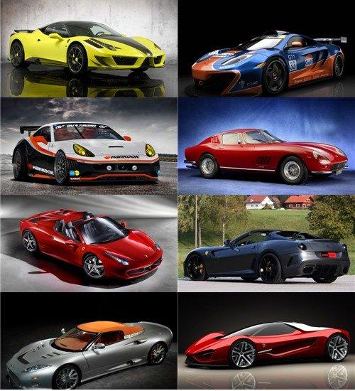 Сборник фото автомобилей в фото для рабочего стола обои