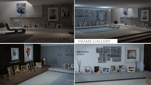 Frame Modern Gallery - Project for After Effects (Videohive)